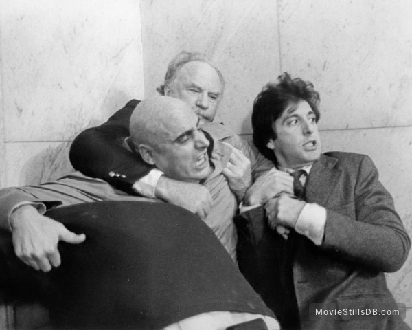 ...And Justice for All - Publicity still of Jeffrey Tambor, Al Pacino & Jack Warden