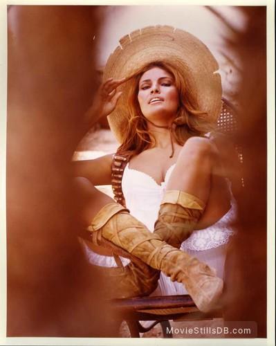 100 Rifles - Promo shot of Raquel Welch