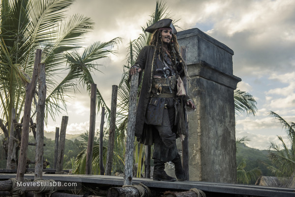 Pirates of the Caribbean: Dead Men Tell No Tales - Publicity still of Johnny Depp