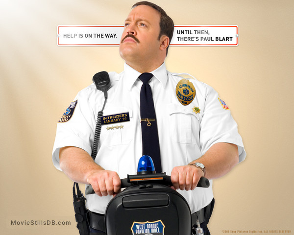 Paul Blart: Mall Cop - Wallpaper with Kevin James