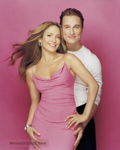 The Wedding Planner - Promo shot of Matthew McConaughey & Jennifer Lopez