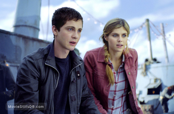 Percy Jackson: Sea of Monsters - Publicity still of Logan Lerman & Alexandra Daddario