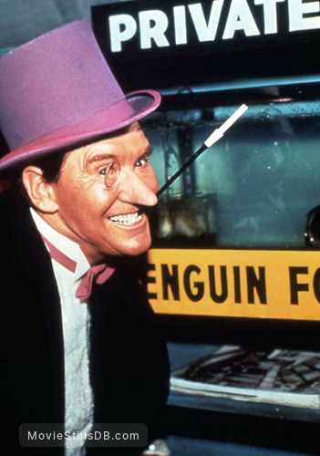 Batman - Publicity still of Burgess Meredith