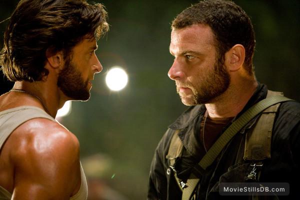 X-Men Origins: Wolverine - Publicity still of Hugh Jackman & Liev Schreiber