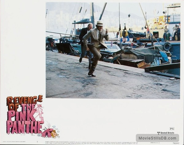 Revenge of the Pink Panther - Lobby card with Robert Webber