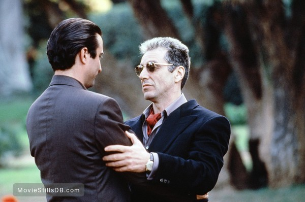 The Godfather: Part III - Publicity still of Al Pacino & Andy García