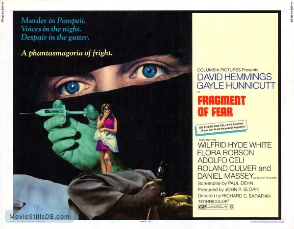 Fragment of Fear - Lobby card