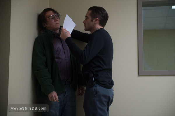 Prisoners - Publicity still of Jake Gyllenhaal & Paul Dano