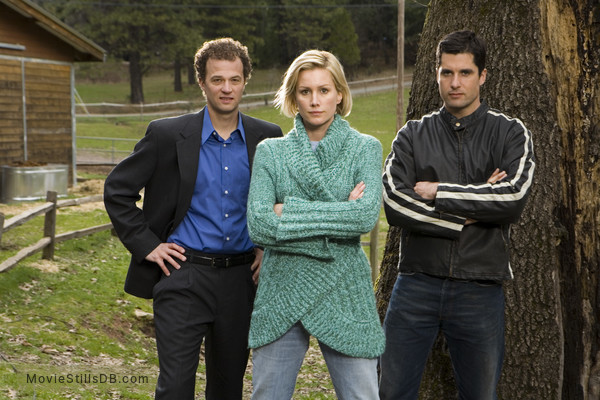 The Christmas Card - Promo shot of Ben Weber & Alice Evans