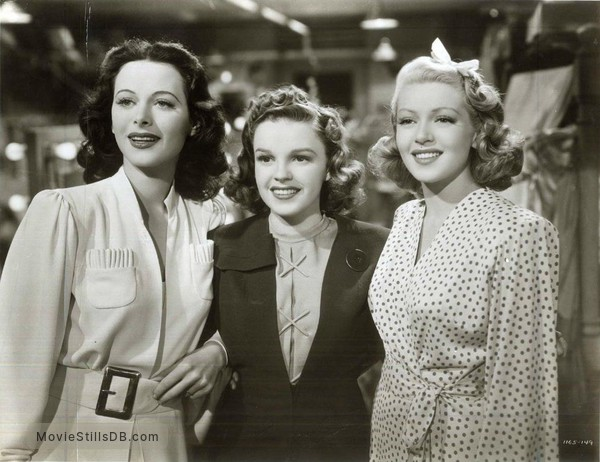 Ziegfeld Girl - Publicity still of Judy Garland, Hedy Lamarr & Lana Turner