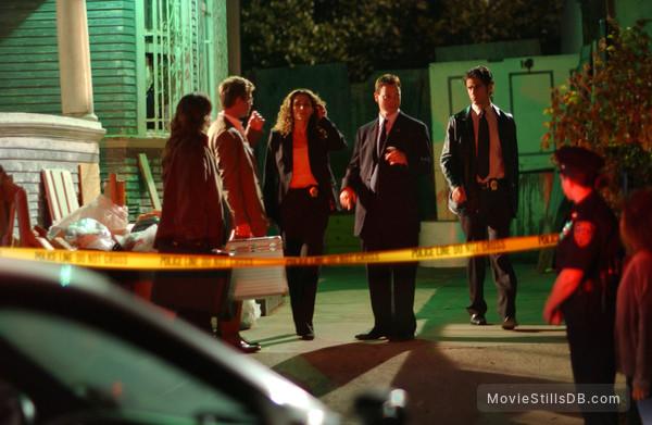 CSI: NY - Publicity still of Melina Kanakaredes, Gary Sinise, Eddie Cahill & Carmine Giovinazzo