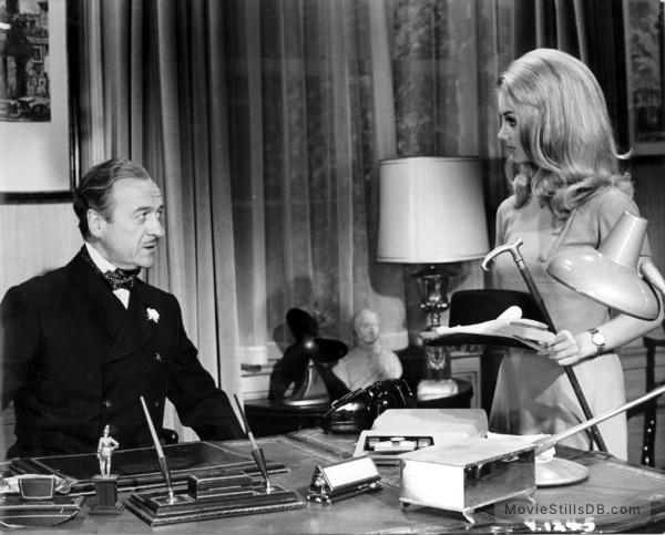Casino Royale - Publicity still of David Niven & Barbara ...