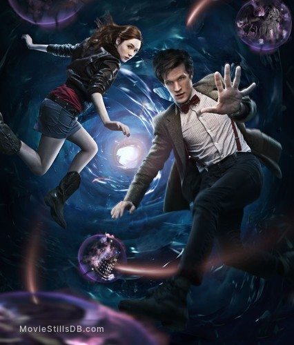 Doctor Who - Promotional art with Matt Smith & Karen Gillan