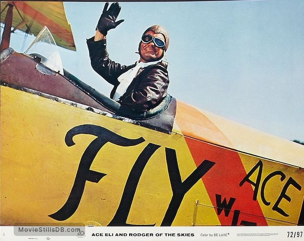 Ace Eli and Rodger of the Skies - Lobby card with Cliff Robertson