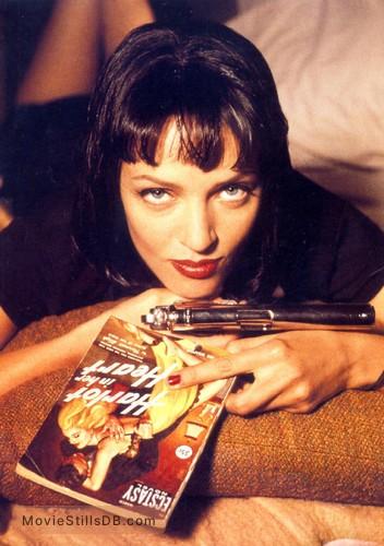 Pulp Fiction - Promo shot of Uma Thurman