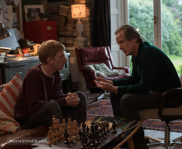 About Time - Publicity still of Bill Nighy & Domhnall Gleeson