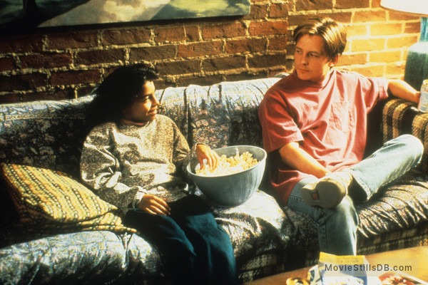 Life with Mikey - Publicity still of Christina Vidal & Michael J. Fox
