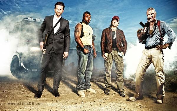 The A-Team - Publicity still of Bradley Cooper, Liam Neeson, Quinton Jackson & Sharlto Copley