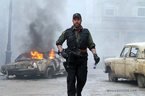 The Expendables 2 - Publicity still of Chuck Norris