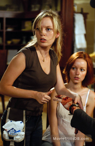 Dawn Of The Dead - Publicity still of Lindy Booth & Sarah ...