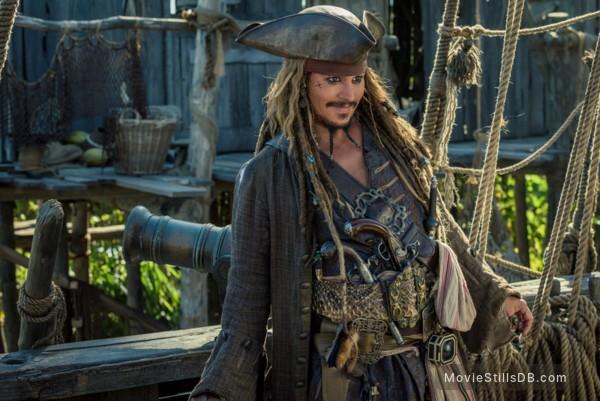 Pirates of the Caribbean: Dead Men Tell No Tales - Publicity still of Johnny Depp
