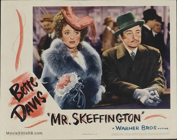 Image result for mr. skeffington 1944 lobby card