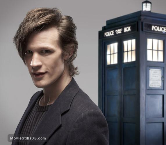 Doctor Who - Promo shot of Matt Smith