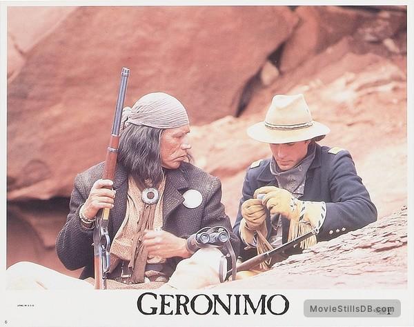 Geronimo: An American Legend - Lobby card