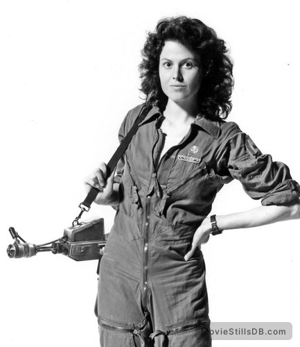 Alien - Promo shot of Sigourney Weaver