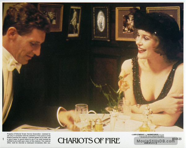 Chariots of Fire - Lobby card with Ben Cross & Alice Krige