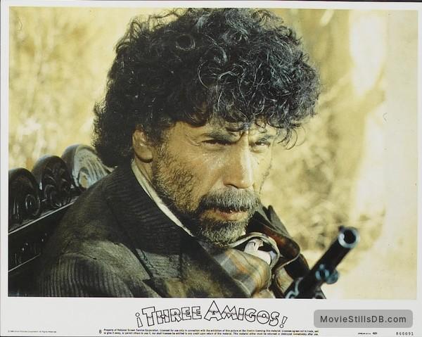 ¡Three Amigos! - Lobby card with Alfonso Aráu