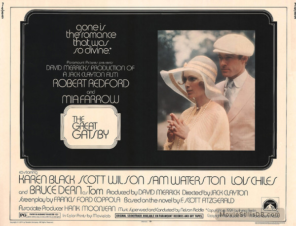 The Great Gatsby - Lobby card