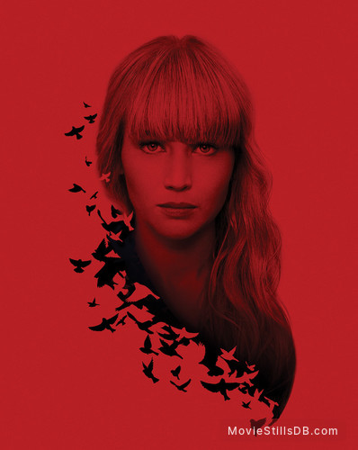 Red Sparrow - Promotional art with Jennifer Lawrence