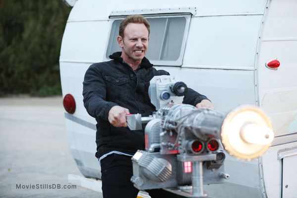 The Last Sharknado: It's About Time - Publicity still of Ian Ziering