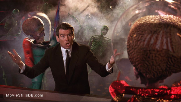 Mars Attacks! - Publicity still of Pierce Brosnan