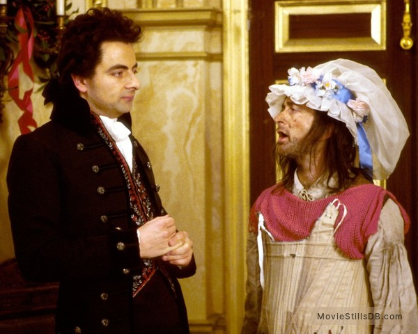 The Black Adder - Publicity still of Rowan Atkinson & Tony Robinson
