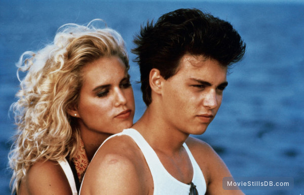 Private Resort - Publicity still of Johnny Depp & Karyn O'Bryan