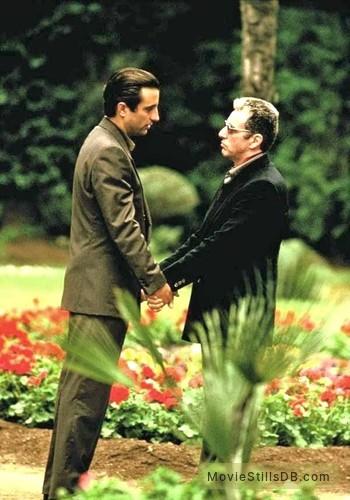 The Godfather: Part III - Publicity still of Al Pacino & Andy García