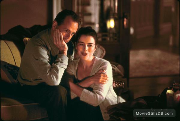 The Sixth Sense - Publicity still of Bruce Willis & Olivia Williams