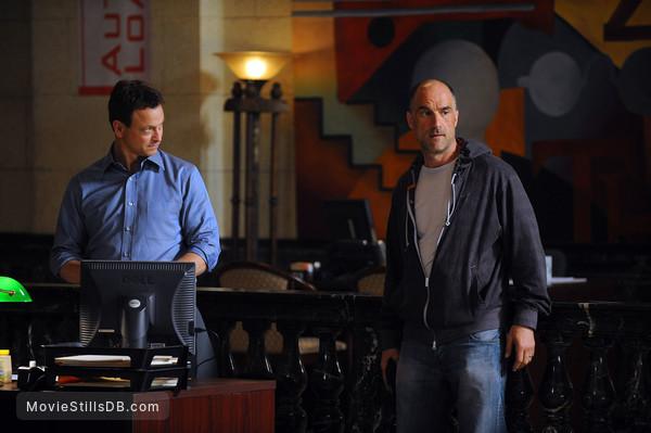CSI: NY - Publicity still of Gary Sinise & Elias Koteas