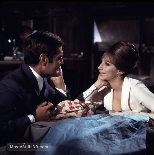 Funny Girl - Publicity still of Barbra Streisand & Omar Sharif
