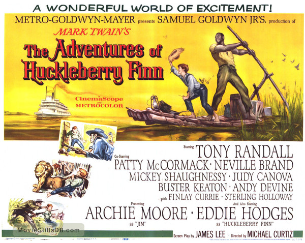 huckleberry finn and the use of Mark twain's classic novel the adventures of huckleberry finn is arguably the  best piece of american literature ever written however, the excessive use of the .