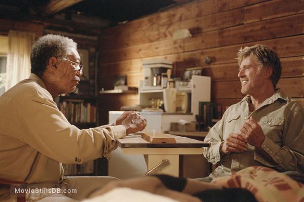 An Unfinished Life - Publicity still of Robert Redford & Morgan Freeman