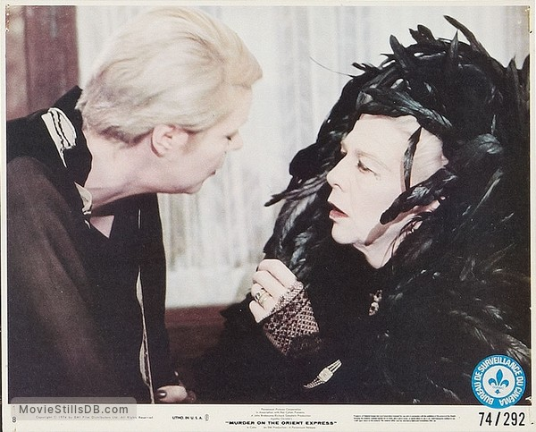 Murder on the Orient Express - Lobby card with Wendy Hiller & Rachel Roberts