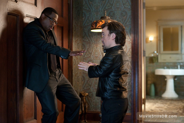 Death at a Funeral - Publicity still of Martin Lawrence & Peter Dinklage