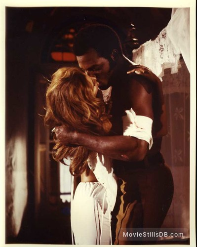 100 Rifles - Publicity still of Raquel Welch & Jim Brown