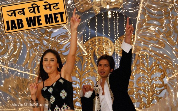 Jab We Met Wallpaper With Shahid Kapoor Kareena Kapoor Khan