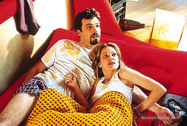 Chasing Amy - Publicity still of Ben Affleck & Joey Lauren Adams