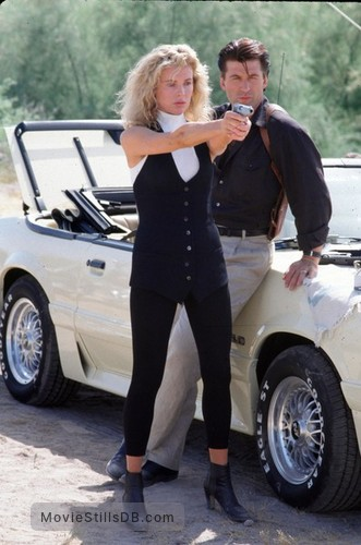 The Getaway - Publicity still of Alec Baldwin & Kim Basinger