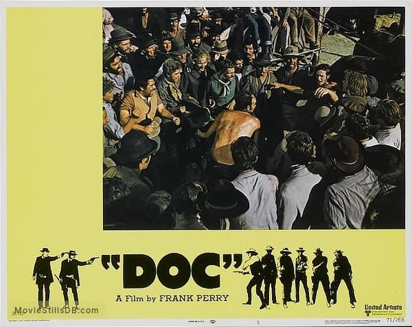 'Doc' - Lobby card